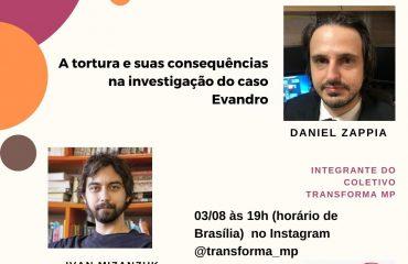 Live: A tortura e suas consequências na investigação do caso Evandro