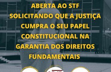 Entidades enviam carta aberta ao STF solicitando que a justiça cumpra o seu papel constitucional na garantia dos direitos fundamentais