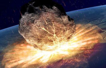 Não é meteoro